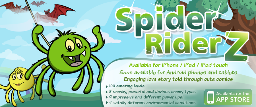 Spider Rider Game for iOS
