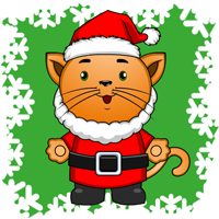Preschool Christmas Kitty iPad